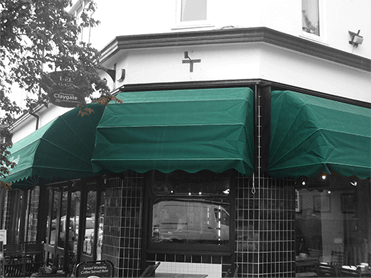 Green Victorian Canopy