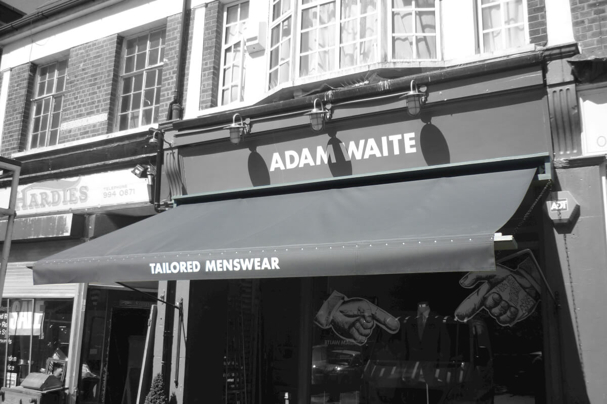 Awning for a Tailor in London